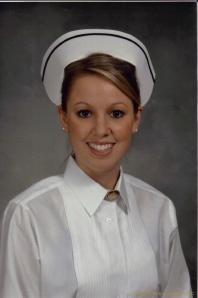 My graduation photo. Spring 2008.
