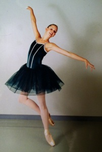 During my dancing days.