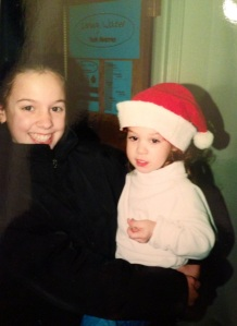 This is Gena and me, probably in 1999.